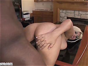 Bridgette B - My new Latina assistant in pantyhose