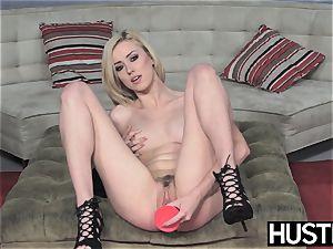 Irresistible Haley Reed blowbanged before muddy facial cumshot