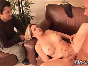 Cuck observes wifey Angela Attison Do buttfuck