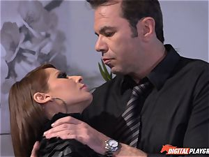 Madison Ivy has her puffy pussy speared