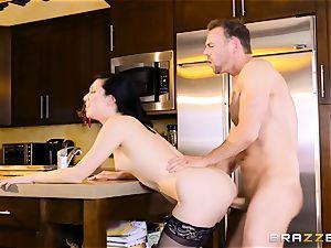 Aria Alexander fucks her husbands acquaintance