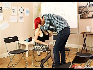 hookup addicts anonymous gets a bit hot with Jasmine James and Danny D