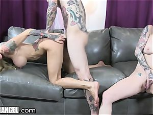 big-chested inked cougar Cams With Joanna Angel