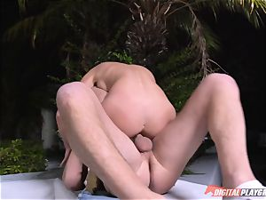spunking in the uber-cute mouth of Ariana Marie