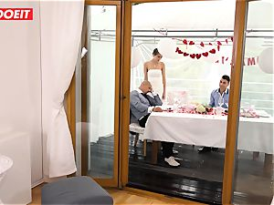 LETSDOEIT - StepMom pulverizes StepSon With spouse Sleeping