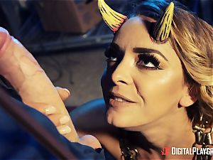 fucking that super hot ultra-kinky demon Liza Del Sierra