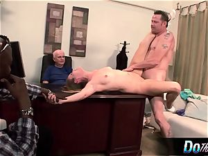 red-hot wife Daisy Layne pummels and eats cum