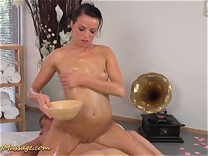 Real slippery nuru massage orgy