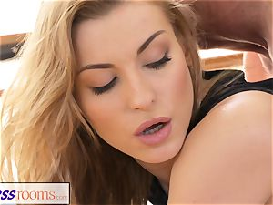 FitnessRooms Yoga tormentor trains young college girl fuckfest
