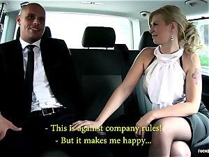 banged In Traffic - sexy Czech honey luvs warm car fucky-fucky