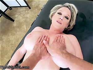 FantasyMassage cougar Dee Williams point of view spray massage