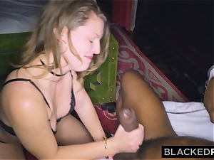 BLACKEDRAW girlfriend cheats with the biggest shaft she's EVER seen