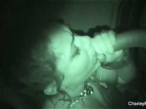 Night vision romping with supah torrid Charley chase