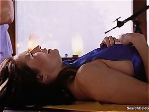 luxurious Mimi Rogers gets her whole bod touched