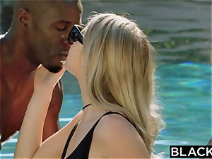 BLACKED.com towheaded Gets very first big black cock from Brothers acquaintance