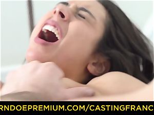 audition FRANCAIS - puny stunner pounded in first audition