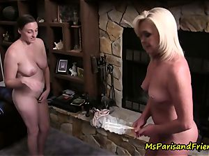 Ms Paris Rose and Melanie Hicks in cooter, Maid to Order