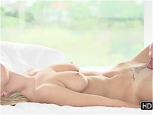Natalia Starr having romantic hook-up with Johnny Sins