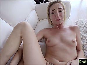 Bratty sister - fuckpole slides In Sisters vag She enjoys It