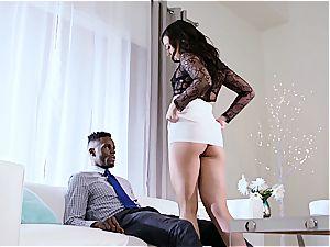 white wife Whitney cuckolds her dark-hued cheating spouse