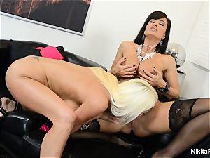 molten Russian Nikita Von James humps pornography legen Lisa Ann