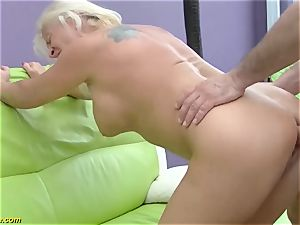 super-sexy 73 years old mother very first giant schlong buttfuck fuck