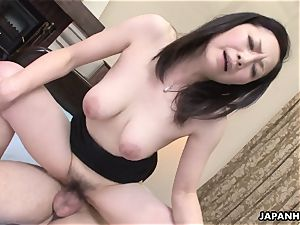 chinese wifey got her fur covered cooter boned after a sixty-nine