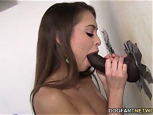 Riley Reid cheats on her bf with big black cock - Gloryhole