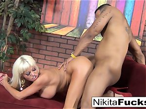 Nikita gets some interracial enjoying