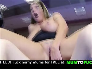 mommy and sonny! hard rectal ravage!!