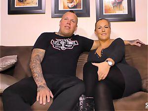 SEXTAPE GERMANY - heavy intercourse with inked German minx