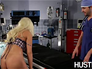 sexy Britney Amber pounded during doctors check-up