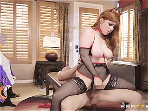 banging Penny Pax on Halloween