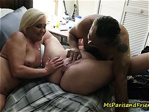 spraying Swingers hook-up with Ms Paris and mates