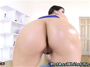 babe has interracial anal invasion