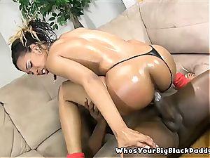 black sheer pleasure Bunny internal ejaculation From big black cock Monstercock