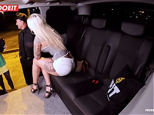 LETSDOEIT - fortunate taxi Driver Bones 2 steaming Blondes