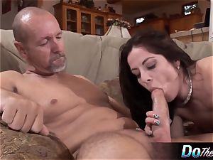 spouse observes wifey take immense pecker