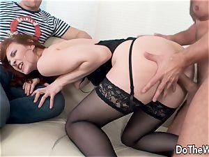 Cuck witnesses wifey Irina Pavlova Have fuckfest
