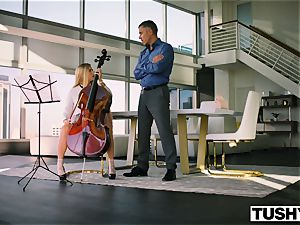 TUSHY Spoiled teen is punished And Gaped By Music schoolteacher