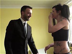 PASCALSSUBSLUTS - chiseled Gina Lynn bashed before facial