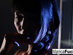 japanese adult movie star Marica gets naked