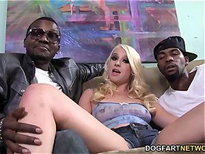 Kristen Jordan big black cock dp