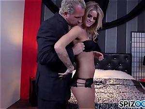 Jessa Rhodes sweet tight twat is porked by a phat prick