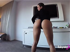Rahyndee James swanky motel poking point of view