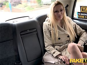 faux taxi Driver gets more than a showcase by Amber Jayne