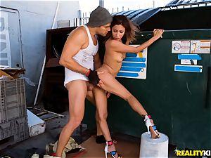 hung homeless dude beats Jade Jantzen