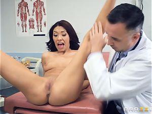 Kara faux medical cooch check up