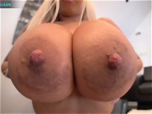 see Bridgette B yam-sized boobs in act