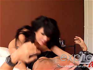 first-ever buttfuck and double penetration audition